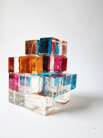 Rubik's Cube, Sculpture, Nicola Anthony,