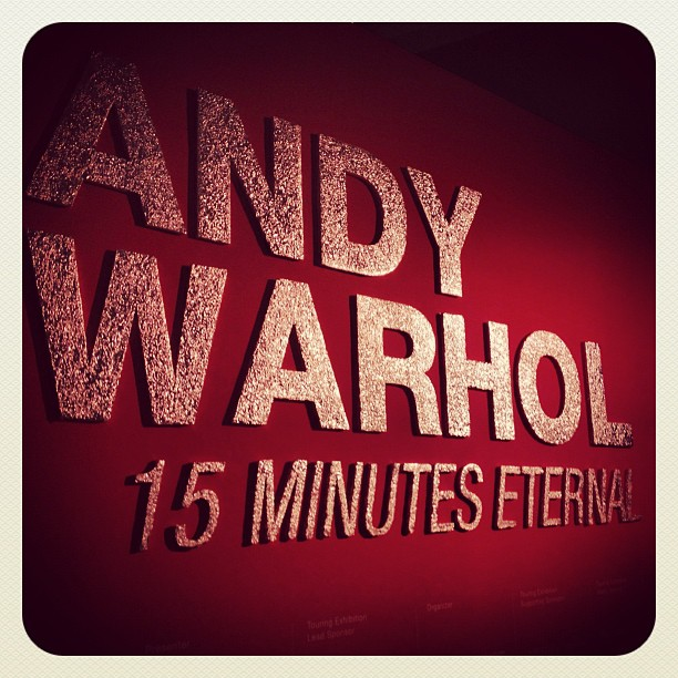 Andy Warhol, 15 Minutes Eternal