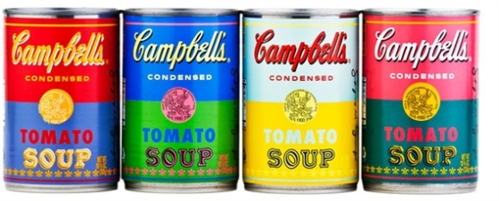 Andy warhol, soup cans & 15 Minutes of Fame